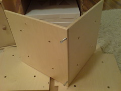 Via Toy Box - building the cube - step 1
