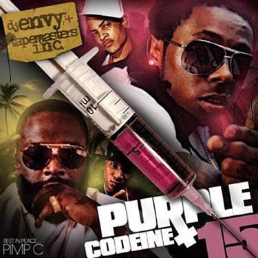 DJ Envy And Tapemasters Inc. Purple Codeine mixtape
