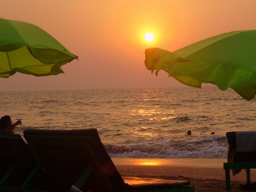 Goa Sunset - 1er Janvier 2008
