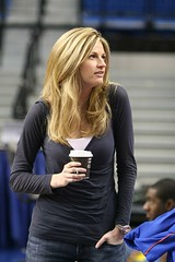 Erin Andrews - ESPN - Former Gator Dazzler (dbadair) Tags: basketball photo andrews cheerleaders florida pics erin gator ky reporter picture fl cheer fla uf espn dazzlers