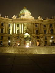 The Michael Wing of the Hofburg Palace
