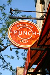 Punch Neapolitan Pizza Sign