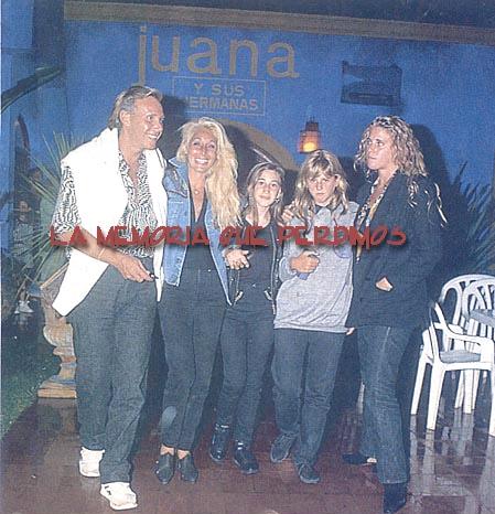 Leonardo Simmons en familia- 1993