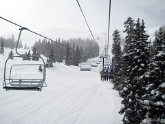 Copper Mountain Skiing by MobileBurn