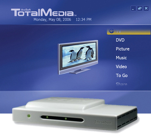 TotalMedia 3.5 Bundled with Silicondust HDHomeRun