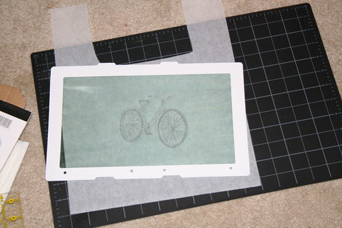 Bicycle Gocco screen
