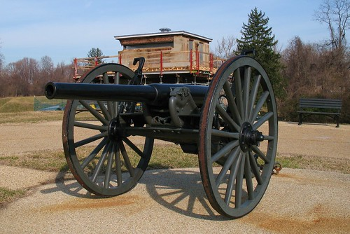 "Fort Washington 3.2"" Breechloading Cannon"