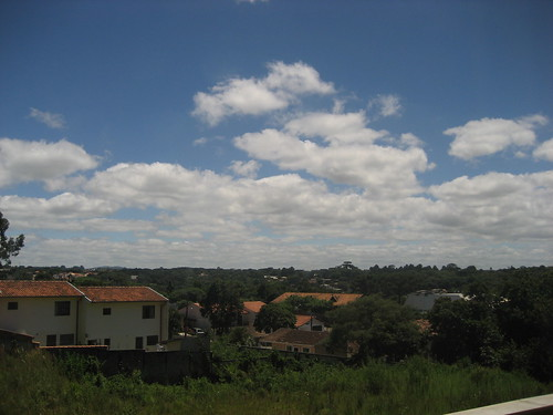 view from the curitiba hotel