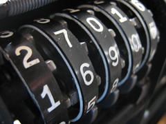 numbering mechanism
