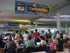 Area Campus Blog, el área social