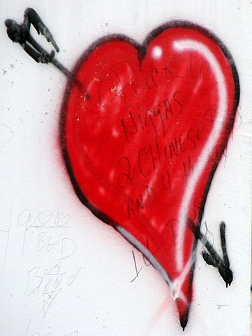 valentine in front of subway stlouis 120208