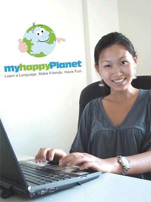 Karen Ong, founder myhappyplanet