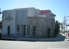 Dr. D.W. Bach Chiropractic building ( City of Downey,CA) (Dying In Downey) Tags: california ca city michael bach dw chiropractor poulin downey