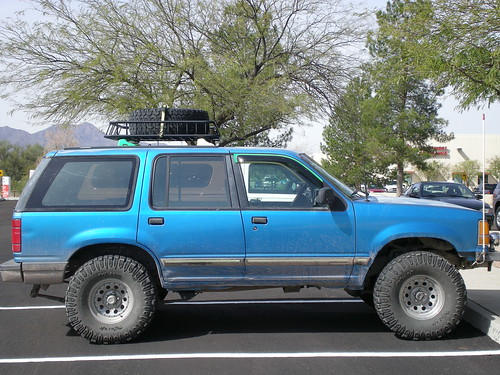 Putting a custom built roof rack on ford explorer and ford just to get your bearings pic of basket on truck sciox Image collections