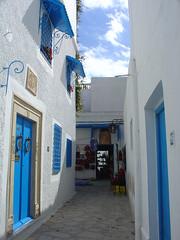 Alley in the madina (old city) of Hammamet /Tunisia (olga_rashida) Tags: tunisia madina hammamet altstadt oldcity tunesien mywinners