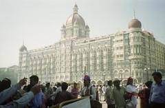 Taj Hotel (Jennifer Kumar) Tags: hotel bombay mumbai india1998 negativescantaj