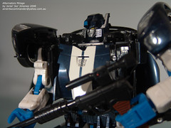 "Autobot: Mirage (Close Up) (Joriel ""Joz"" Jimenez) Tags: closeup toys transformers mirage autobots alternators 80scartoons jorieljimenez anythingtransformers"