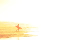 sun surfer (brad_pot) Tags: solitude surf surfer sunsetsurf sunsurf aplusphoto sunsurfer outletprojects bradleypotterton
