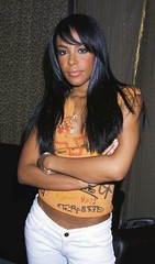 Aaliyah at the Bet & 106 Park