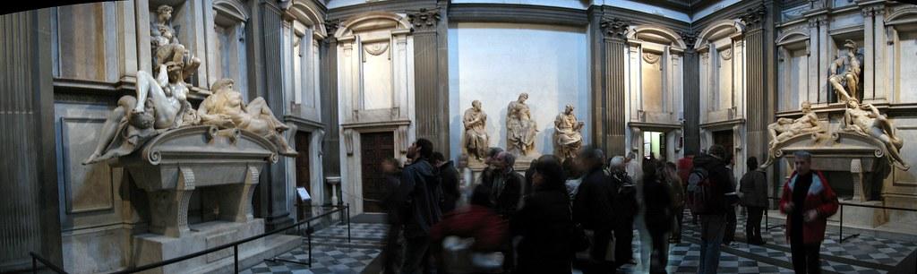 Medici Chapels - Michelangelo's New Sacristy