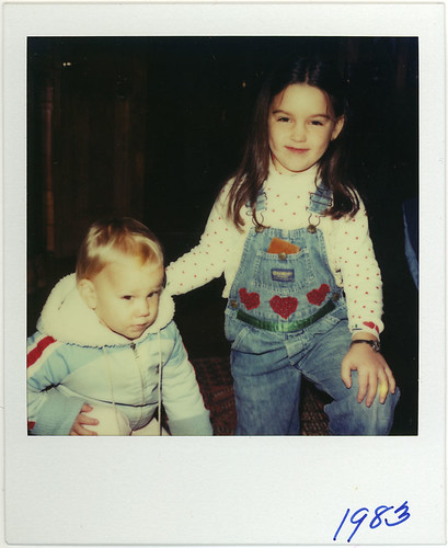 1983 - Jess and cousin Becca