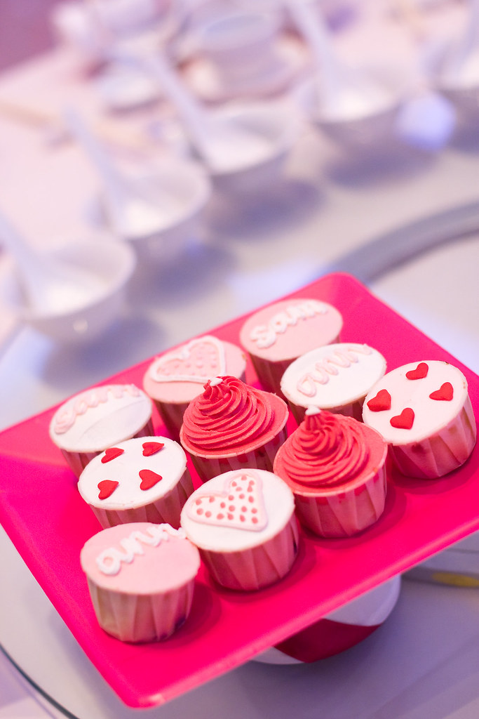 wedding flavours - cupcakes