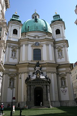 Peterskirche from ourside