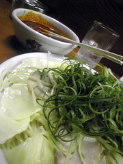 つけめん : Tsukemen (「Nabi」) Tags: summer food hot japan hiroshima noodles 日本 spicy tsukemen 広島 nabin つけめん