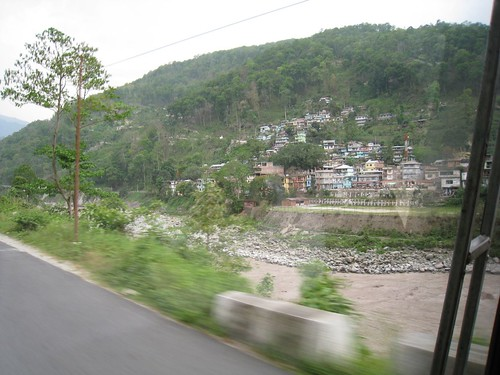 On the road to Gangtok, Sikkim