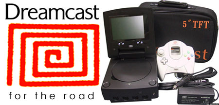 Treamcast - Dreamcast for the Road