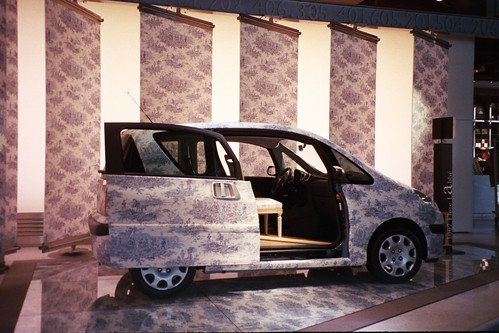 Camilla Pics -Toile car in Paris2