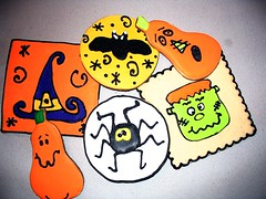 Halloween Cookies (Andovercookiemama) Tags: halloween cookies cookie decoratedcookies halloweencookies decoratedcookie