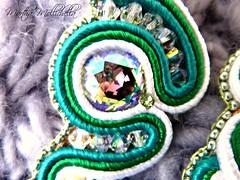 spille handmade soutache e cristalli Swarovski (La Casina di Tobia) Tags: spille handmade soutache e cristalli swarovski brooch wwwmarthamollichellacom