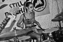 Thrush Metal // St. Moritz (Alessandro Bergonzoni) Tags: uk music white black london beer st metal nikon punk tour soho gig may pizza hardcore skate moritz thrush cerebral 2011 ballzy