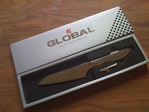Global 25th Anniversary Oriental Knife