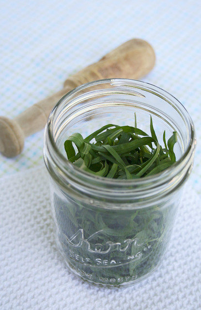 how to make tarragon vinegar with fresh tarragon