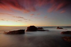 North Bungan Burn (Tim Donnelly (TimboDon)) Tags: longexposure seascape sunrise tripod australia nsw hitech manfrotto waterscape bungan