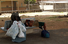 The Other Side of Paradise (wir-click-wir) Tags: people america hawaii oahu homeless honolulu peoplewatching kaimuki cranepark