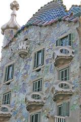 Casa Batll (avinashbhat) Tags: barcelona spain gaudi casabatll