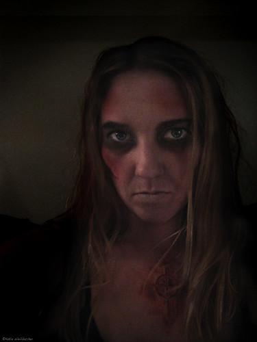 zombie katie's makeup