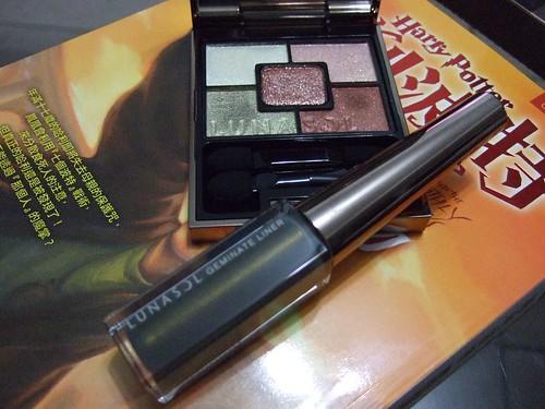 Lunasol光燦寶石眼盒 02 金綠石AR + 01貓眼石眼線液 CE