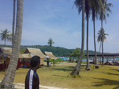 Wonderful!!! (divingoff) Tags: man mountains beach wonderful palms thailand island phiphi palm chalet 2007 saleh divingoff
