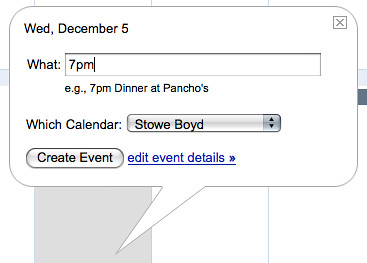 Google Calendar Trick