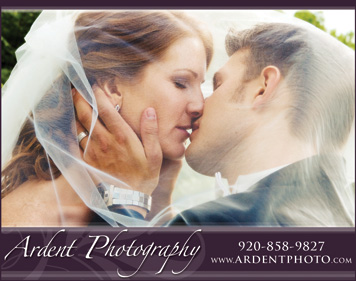 Ardent Photography Ad - Premier Bride Winter/Spring 08