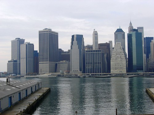 Lower Manhattan From The Promenade