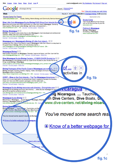 Digg Google Results