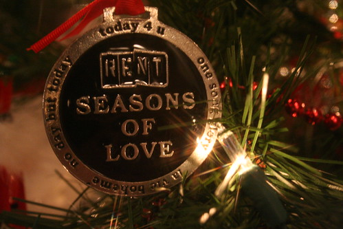 RENT Ornament