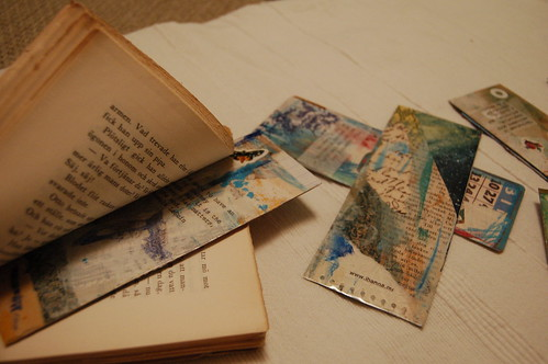 Collage bookmarks I've made