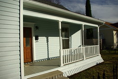 Western Porch (arcanericky) Tags: house home architecture bread exterior porch historical ninnie baird 1901 ninia bairds