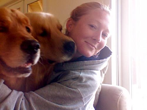 Miss Rizer & Les Pups!